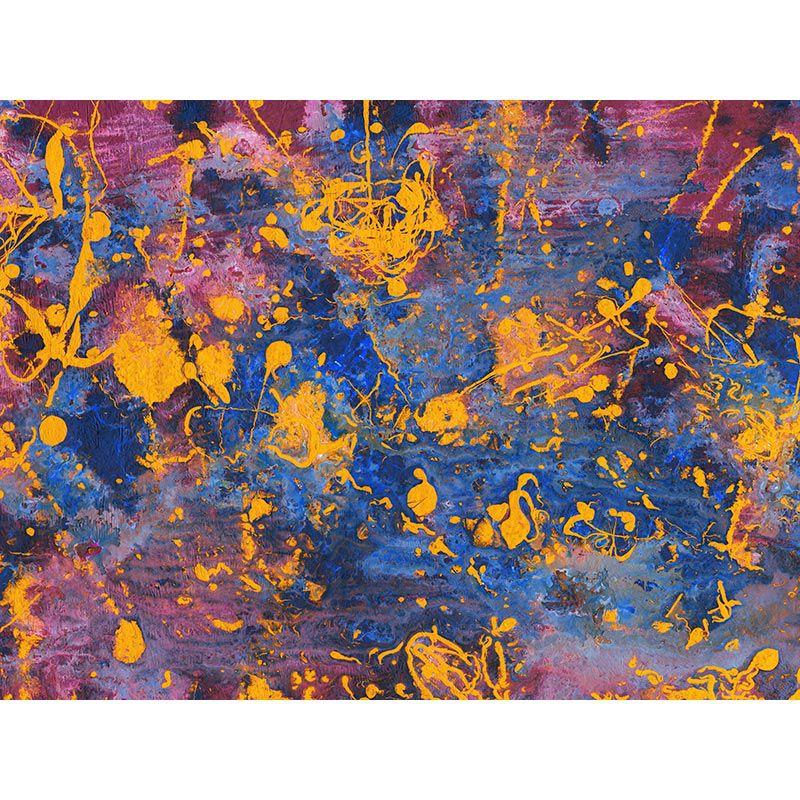 Yellow fusion - Quadro decorativo em canvas