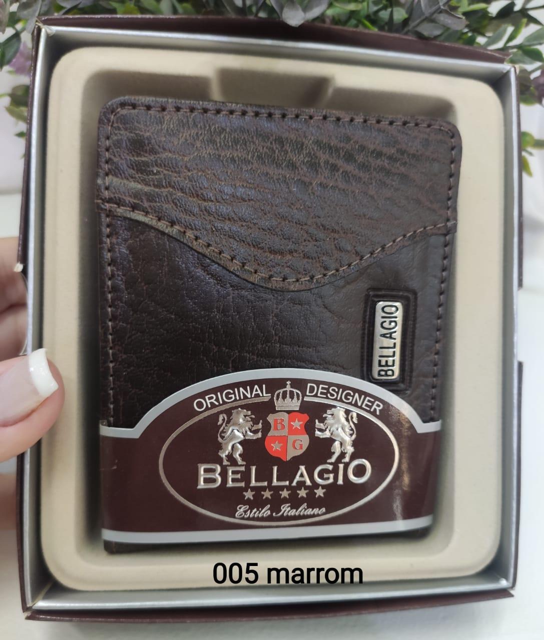 005 Carteira Masculina Bellagio Couro Sintético PU