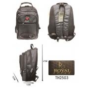 2503 Mochila Unissex Royal Style Nylon