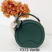 Y372 Transversal Pavão de Ouro Couro Sintético PU