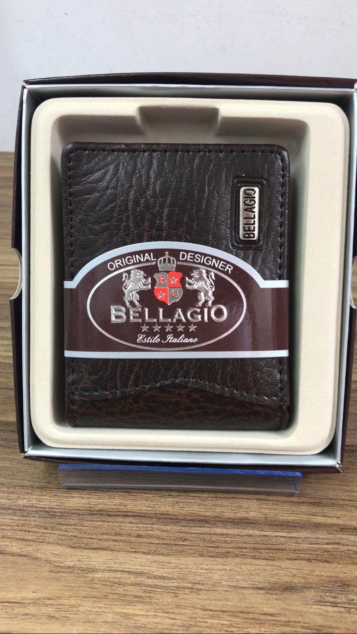 2000 Carteira Bellagio Couro PU