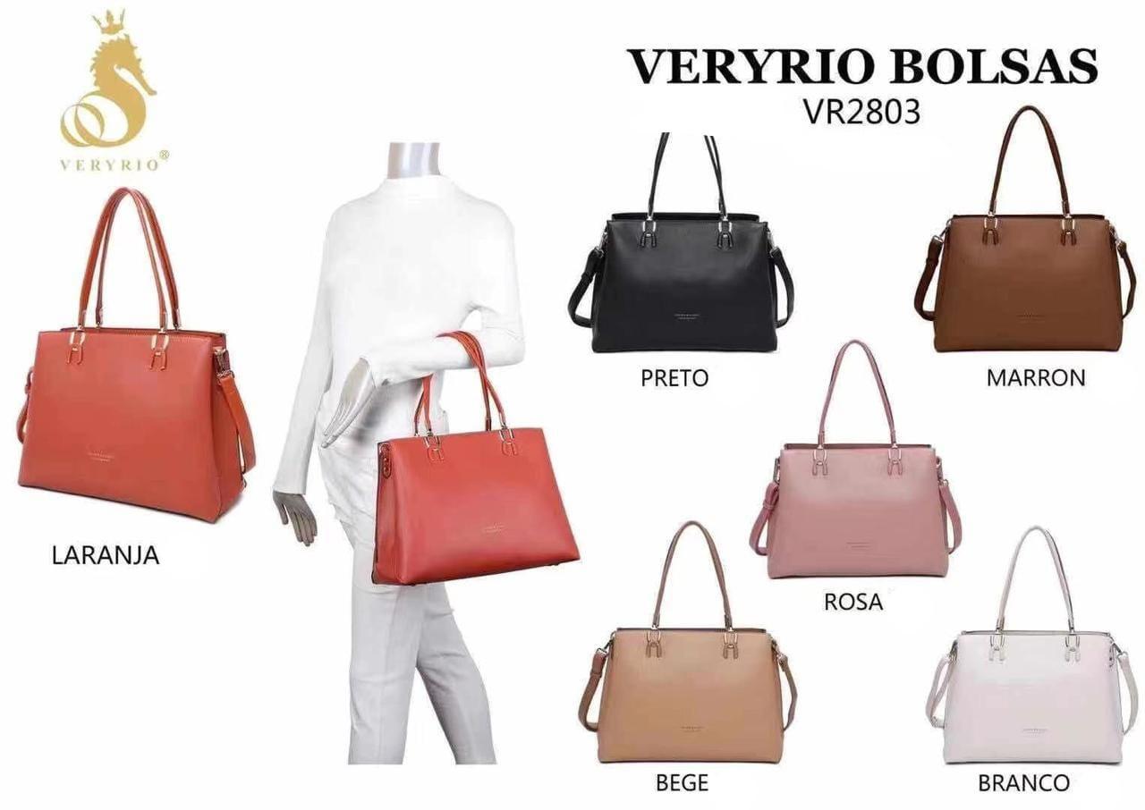 2803 Bolsa de Ombro Very Rio Couro PU