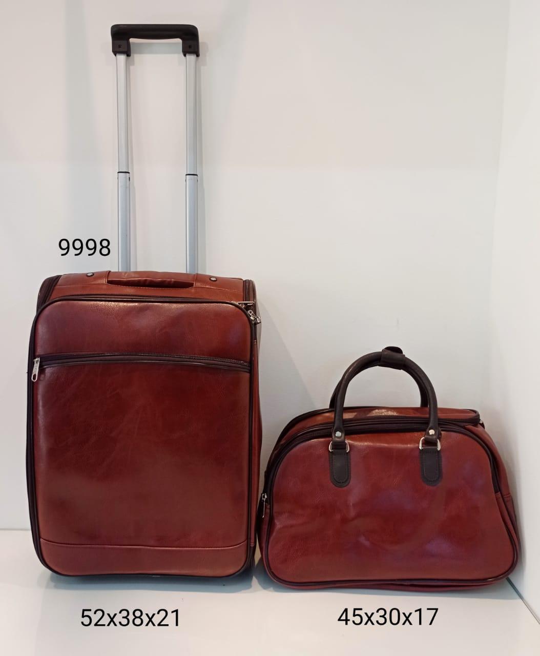 999-8 Kit Mala de Viagem Royal Style Couro PU