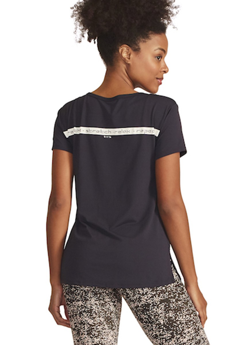 Blusa Breathe to Connect Cor PRETO