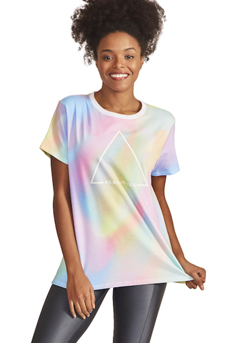Blusa Connect to Triangles Cor ROSA