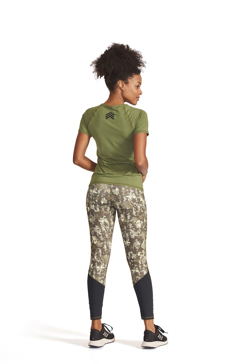 Legging Clip On Cor VERDE