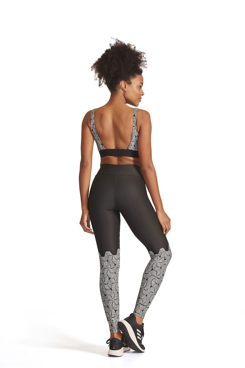 Legging Fusô Equate Cor PRETO