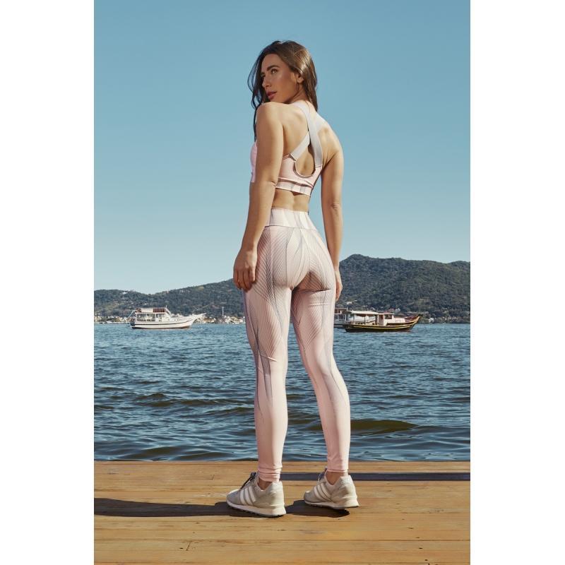 Legging Untried Cor Rosa