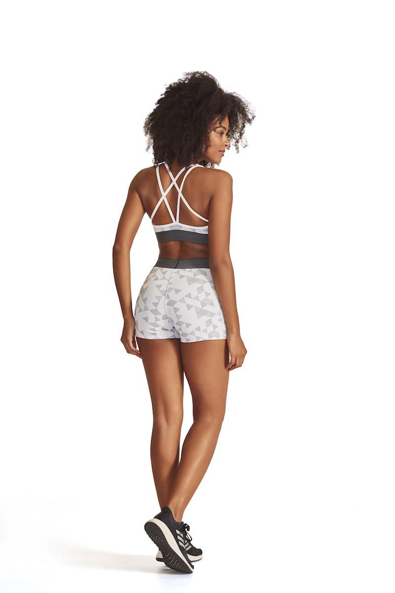 Shorts Bind Cor BRANCO