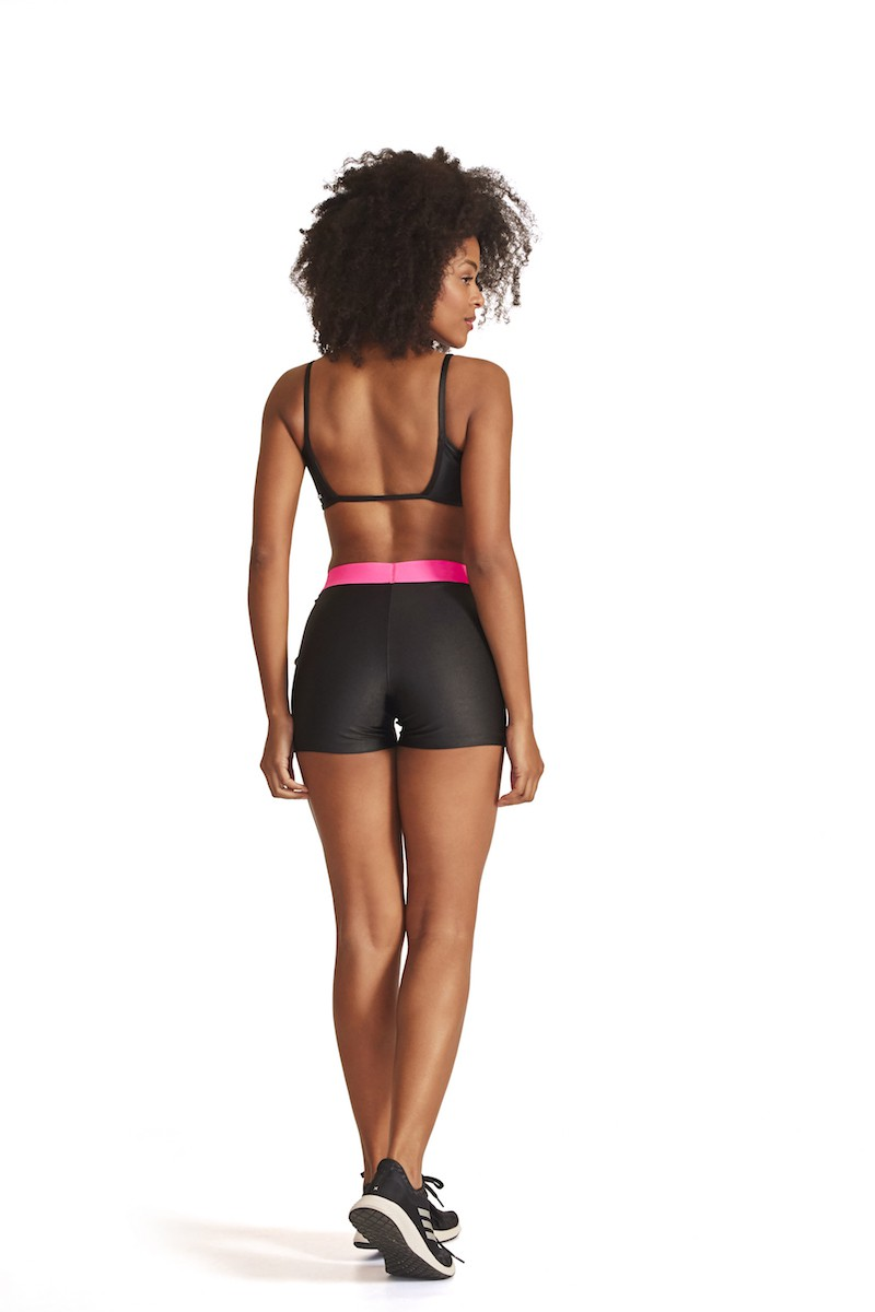 Shorts Bridge Cor PRETO