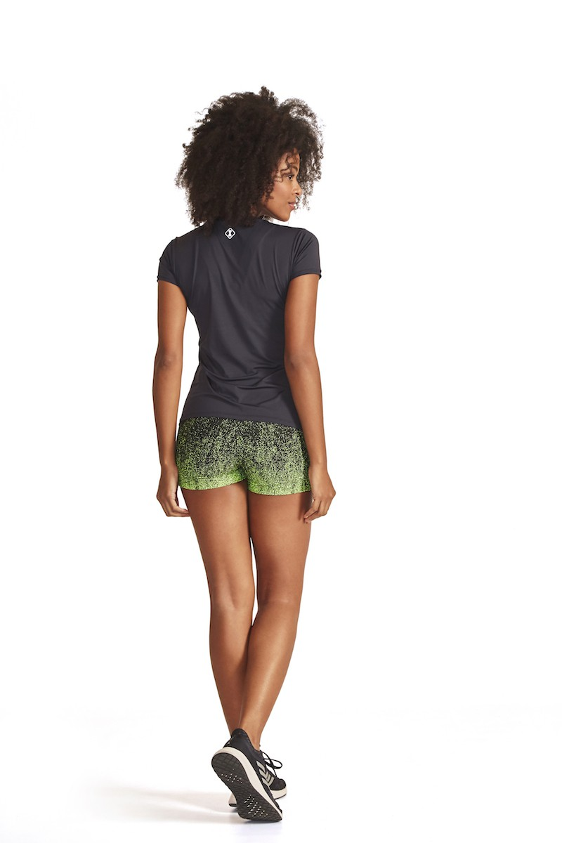 Shorts  Etherium Cor VERDE NEON