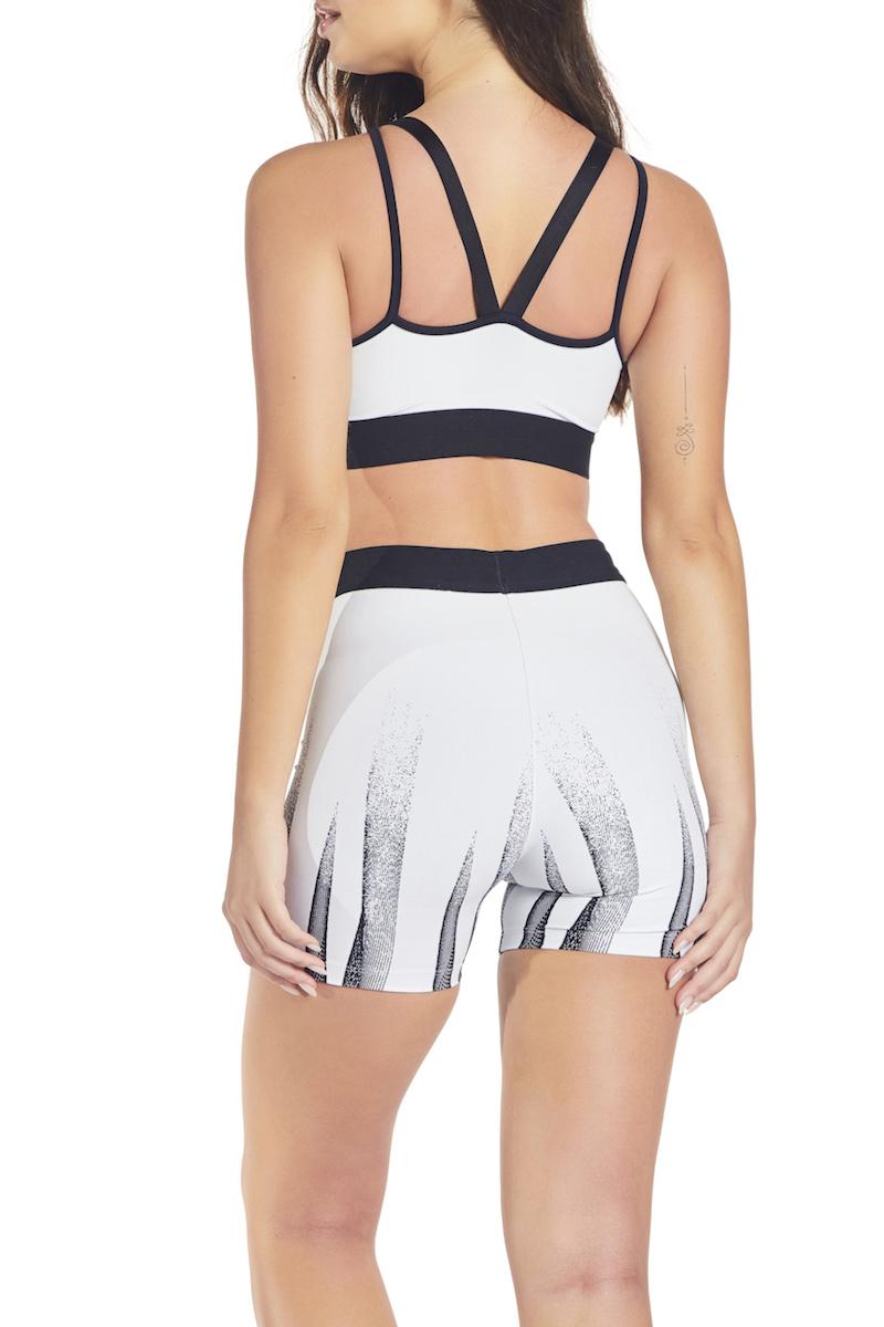 Shorts Matrix Remain Cor BRANCO