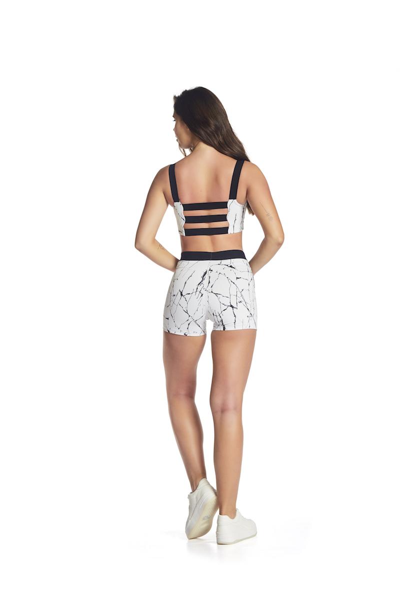 Shorts Matrix Up Cor BRANCO