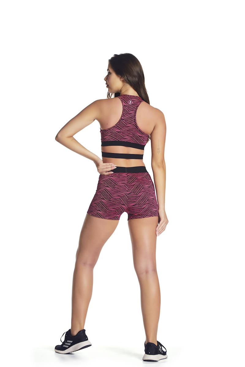 Shorts Matrix Up Cor PINK