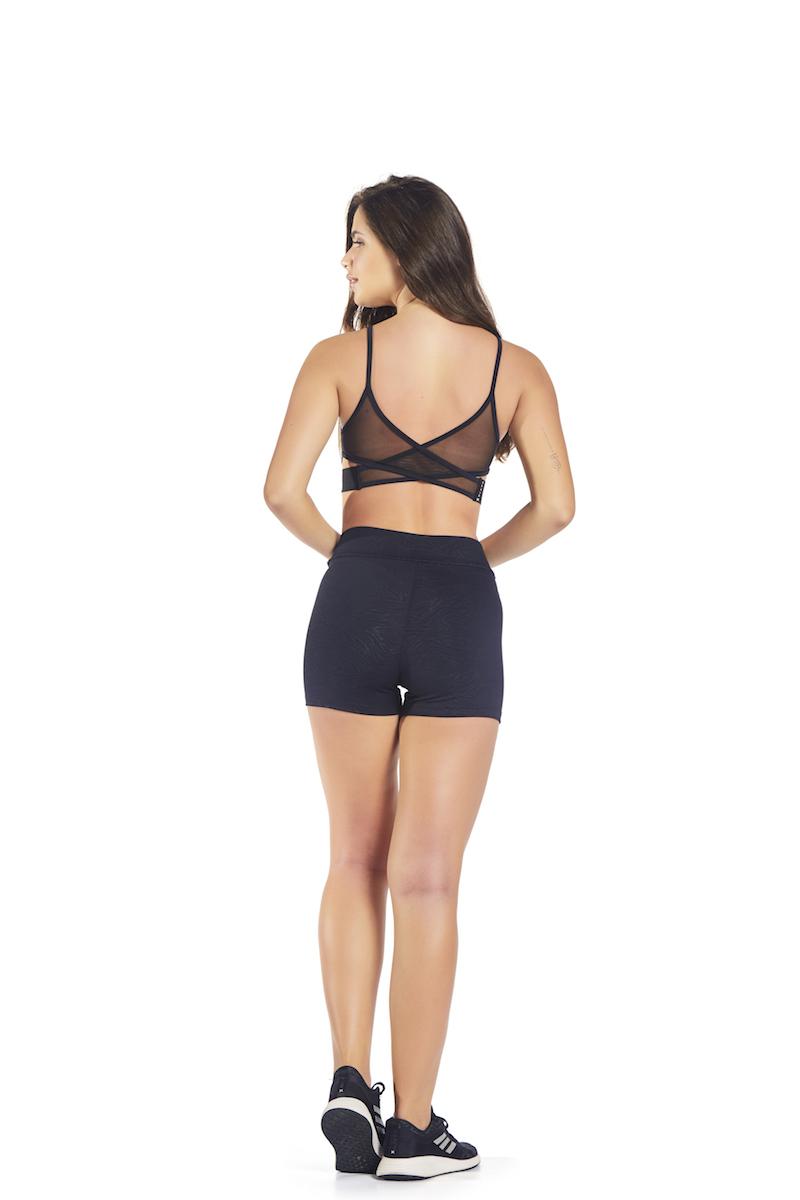 Shorts Mindful Cor PRETO