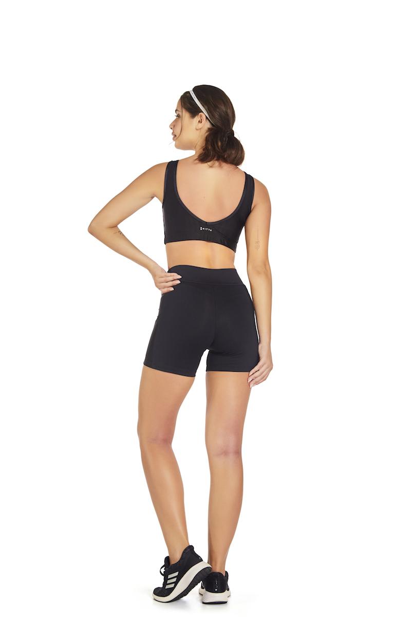 Shorts Reside Cor PRETO