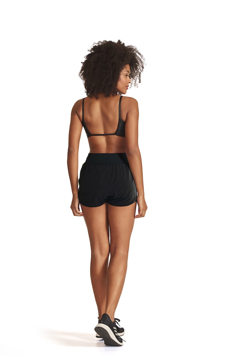 Shorts Run'n Link Cor PRETO