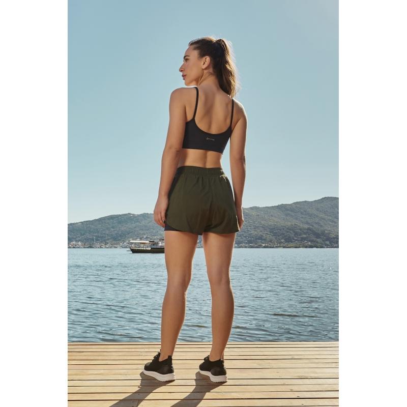 Shorts Run Surface Cor Verde