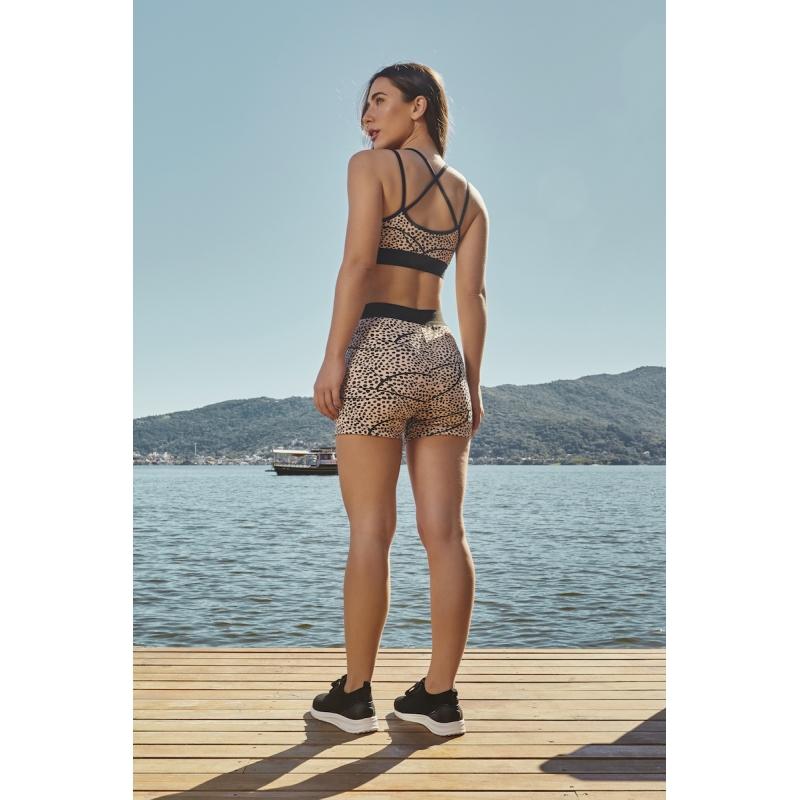 Shorts Shell Cor Rosa