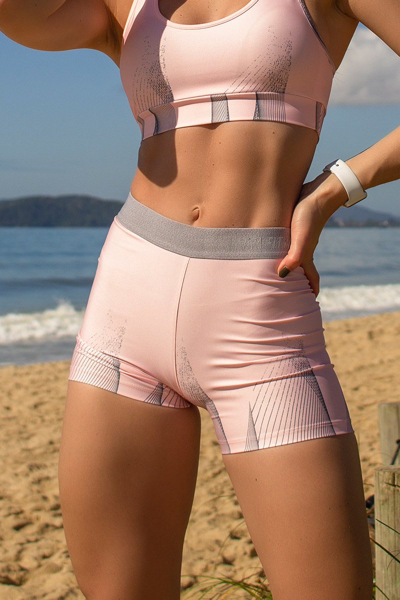 Shorts Untried Cor Rosa