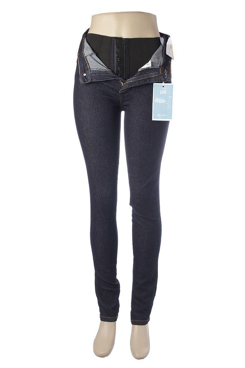 327e6f3d6 Calça Jeans Feminina Legging Super Lipo Sawary Cintura Alta Diversos ...
