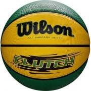 Bola de Basquete Wilson CLUTCH® Amarelo/Verde