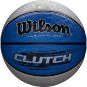 Bola de Basquete Wilson CLUTCH® Azul/Cinza