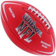 Bola de Futebol Americano WILSON NFL Team AVENGER Vermelha Jr