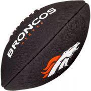 Bola de Futebol Americano Wilson NFL Team DENVER BRONCOS Black