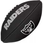 Bola de Futebol Americano Wilson NFL Team OAKLAND RAIDERS Black