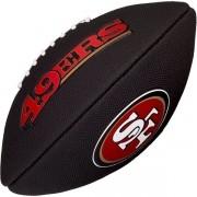 Bola de Futebol Americano Wilson NFL Team SAN FRANCISCO 49ERS Black