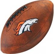 Bola de Futebol Americano Wilson THROWBACK NFL Jr. DENVER BRONCOS