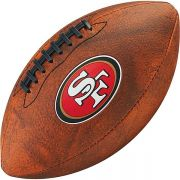 Bola de Futebol Americano Wilson THROWBACK NFL Jr. SAN FRANCISCO 49ERS