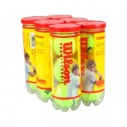 Bola de Tênis Wilson Championship - Mini Pack com 6 Tubos