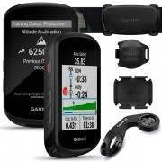 Ciclocomputador c/ GPS Garmin Edge 530 Bundle Cinta Cardíaca + Sensores