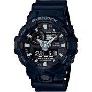 Relógio Casio G-Shock GA-700-1BDR Resistente a choques