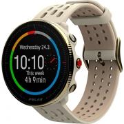 Relógio GPS Multiesportes Monitor Cardíaco de Pulso Polar Vantage M2 Champagne/Gold