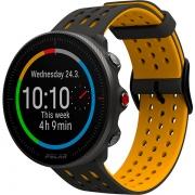 Relógio GPS Multiesportes Monitor Cardíaco de Pulso Polar Vantage M2 Cinza/Amarelo