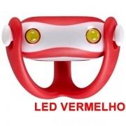 Farol Vista Light Infini I-203R Led Vermelho WUKONG Vermelho