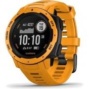 Monitor Cardíaco de Pulso com GPS Garmin Instinct Amarelo