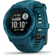 Monitor Cardíaco de Pulso com GPS Garmin Instinct Azul