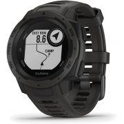 Monitor Cardíaco de Pulso com GPS Garmin Instinct Grafite