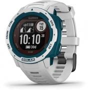 Monitor Cardíaco de Pulso GPS Garmin Instinct Solar Surf Branco