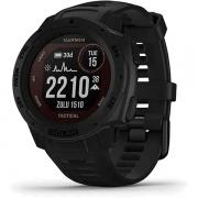 Monitor Cardíaco de Pulso GPS Garmin Instinct Solar Tactical Preto