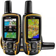 Navegador GPS Garmin GPSMAP 64 - Frete Grátis