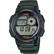 Relógio Casio AE-1000W-3AVDF Bateria 10 Anos