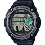 Relógio Casio AE-3000W-1AVDF Bateria 10 Anos Hora Mundi