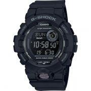 Relógio Casio G-Shock G-Squad GBD-800-1BDR Monitor de Passos Bluetooth