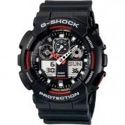 Relógio Casio G-Shock GA-100-1A4DR Resistente a choques