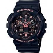 Relógio Casio G-Shock GA-100GBX-1A4DR Resistente a choques